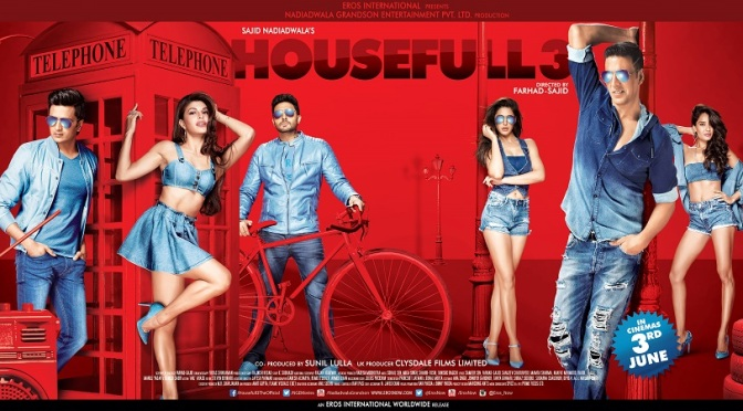 Eros International to release Housefull 3 in UK cinemas