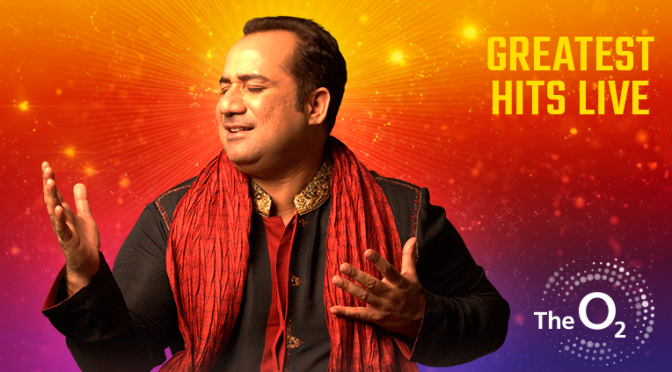WIN: Tickets to Ustad Rahat Fateh Ali Khan – The Greatest Hits Live at The O2