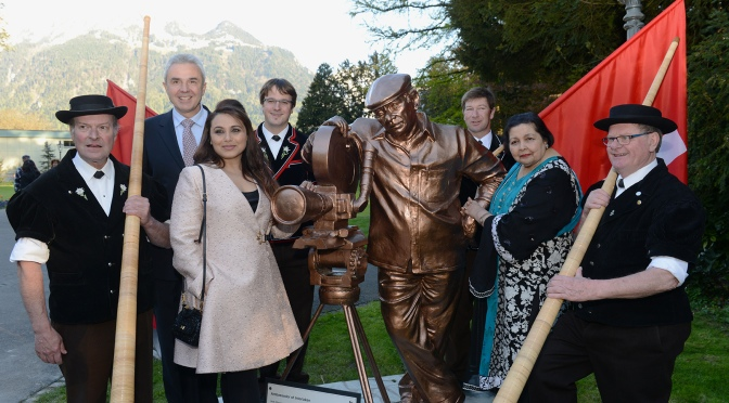 Yash Chopra Immortalized by Switzerland with his statue