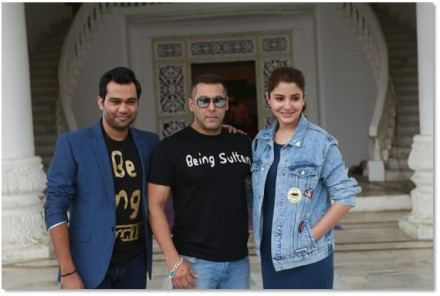 Salman and Anushka Celebrate Sultan