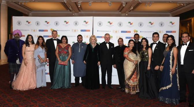 British Asian Trust beneficiaries join star-studded annual dinner, raising more than £850,000