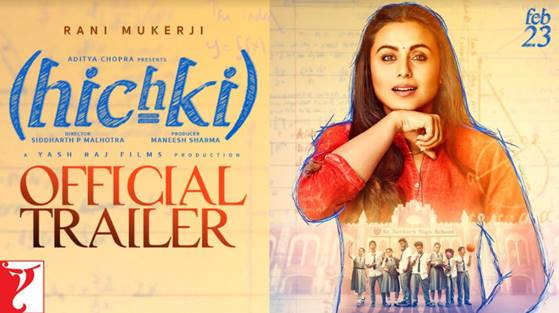 Rani Mukerji is back with 'Hichki'
