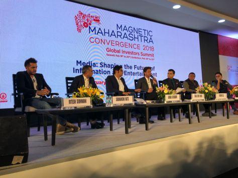Shah Rukh Khan at Magnetic Maharashta Convergence (1)
