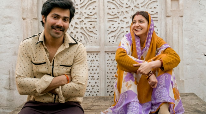 First Look: Varun and Anushka in 'Sui Dhaaga'