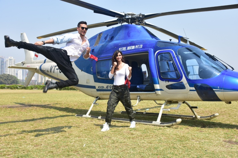 Tiger Shroff and Disha Patani - BAAGHI 2 (7)