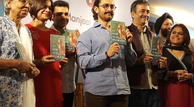 Aamir Khan launches Manjeet Hirani's book 'How to be a Human'