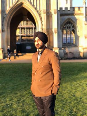 Sandeep at Cambridge