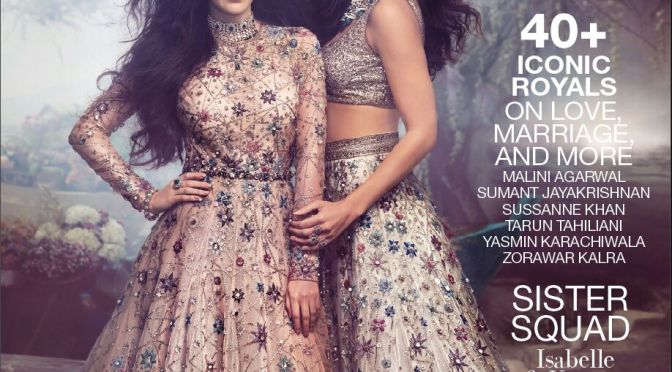 Katrina Kaif & Isabelle Kaif shoot their very first cover together