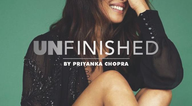 Priyanka Chopra to pen down her memoir, 'Unfinished'