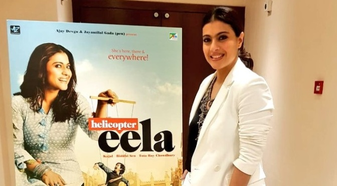 Kajol unveils 'Helicopter Eela' poster in London