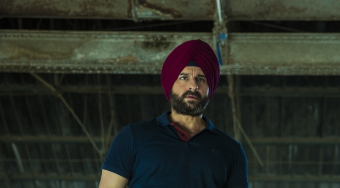 "Interview: #SacredGames ""It was exhausting"" – Saif Ali Khan"