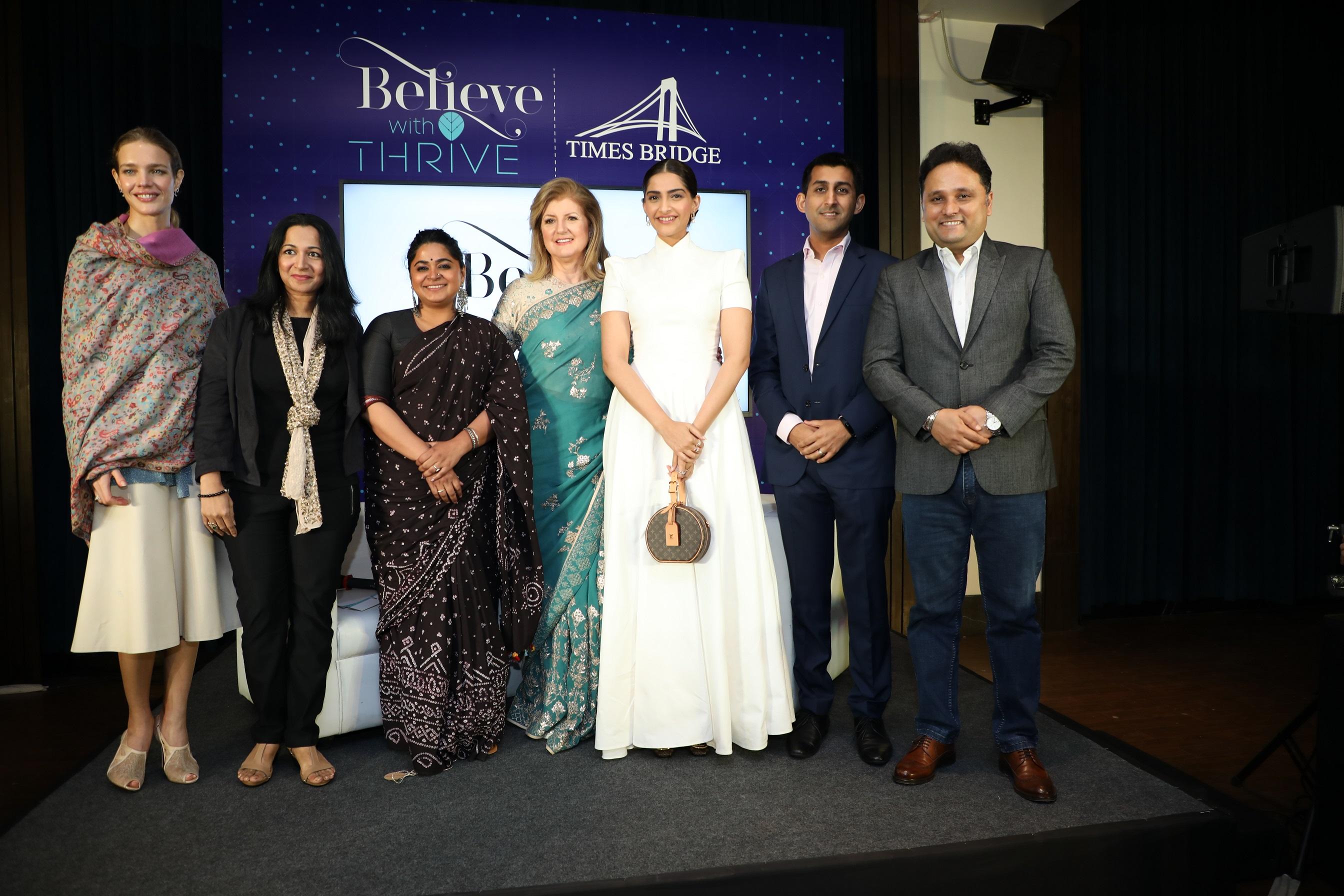 Ariana Huffington and Sonam Kapoor (2)
