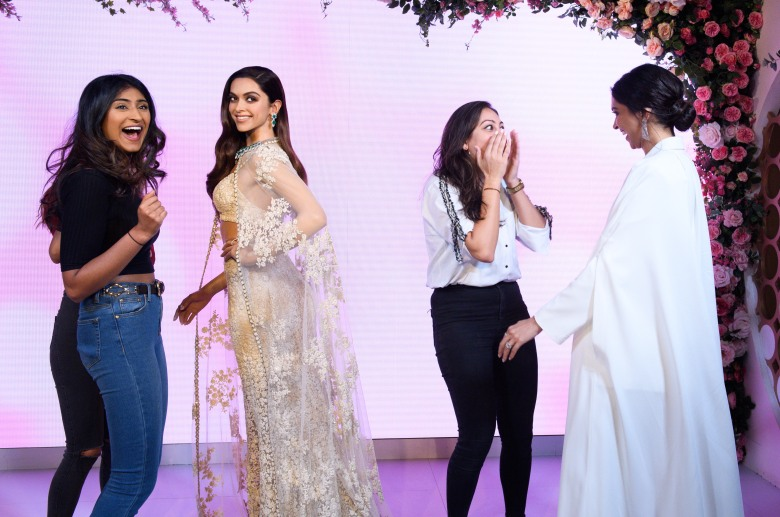 Launch of Deepika Padukone's first ever Madame Tussauds London figure (1)