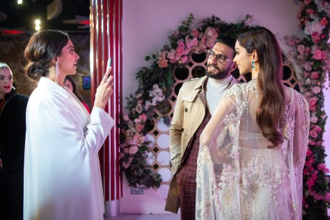 Launch of Deepika Padukone's first ever Madame Tussauds London figure (10)