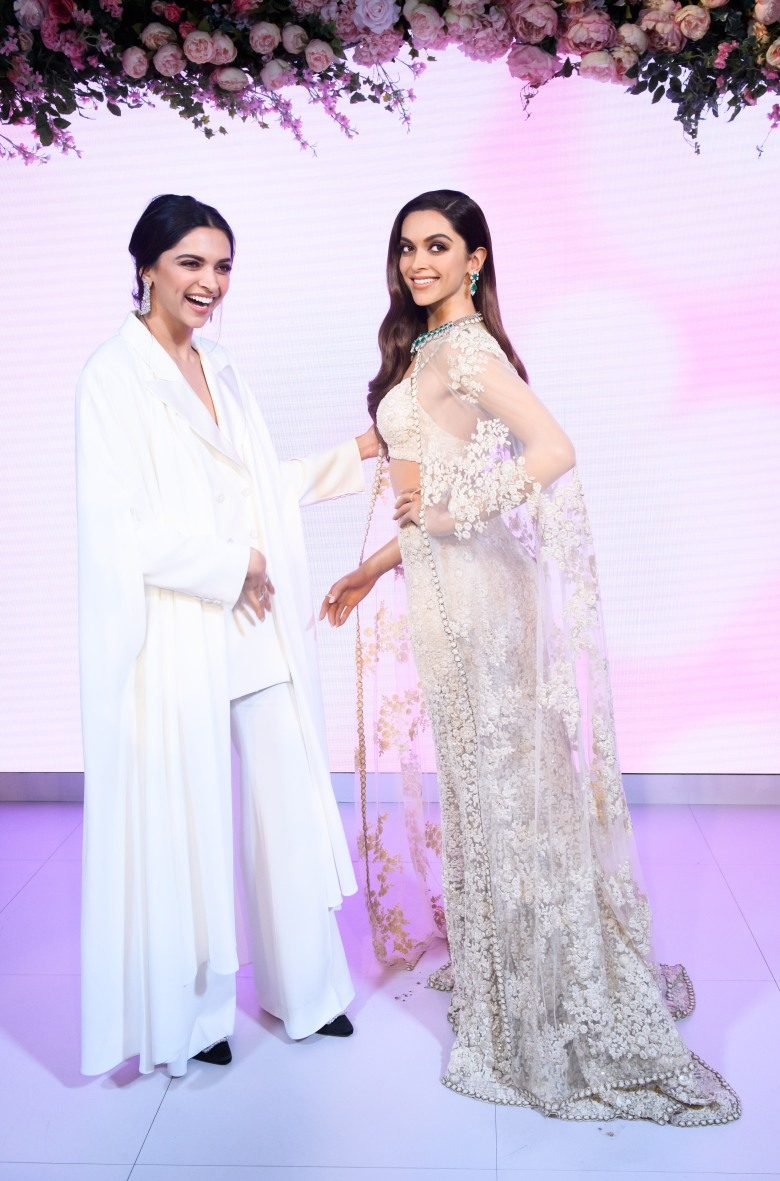 Launch of Deepika Padukone's first ever Madame Tussauds London figure (17)